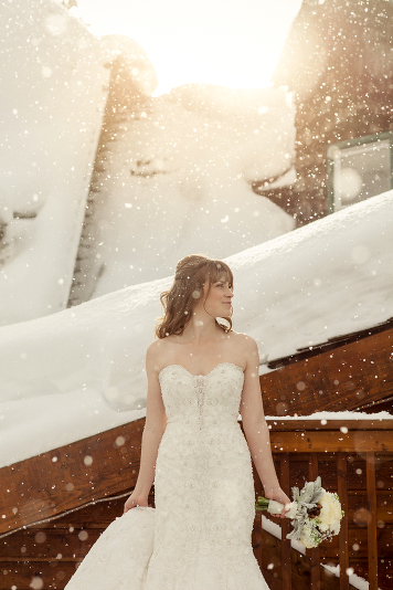 wedding in Lake Louise