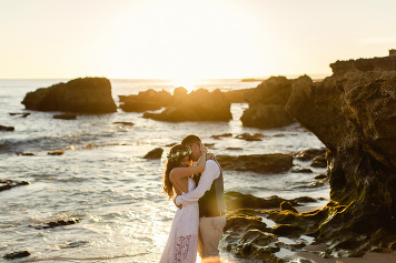 boho beach wedding Algarve